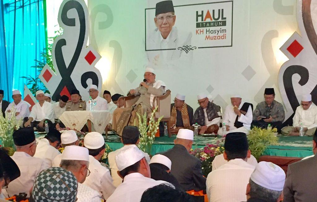 Ribuan Jamaah Hadiri Peringatan Haul KH Hasyim Muzadi