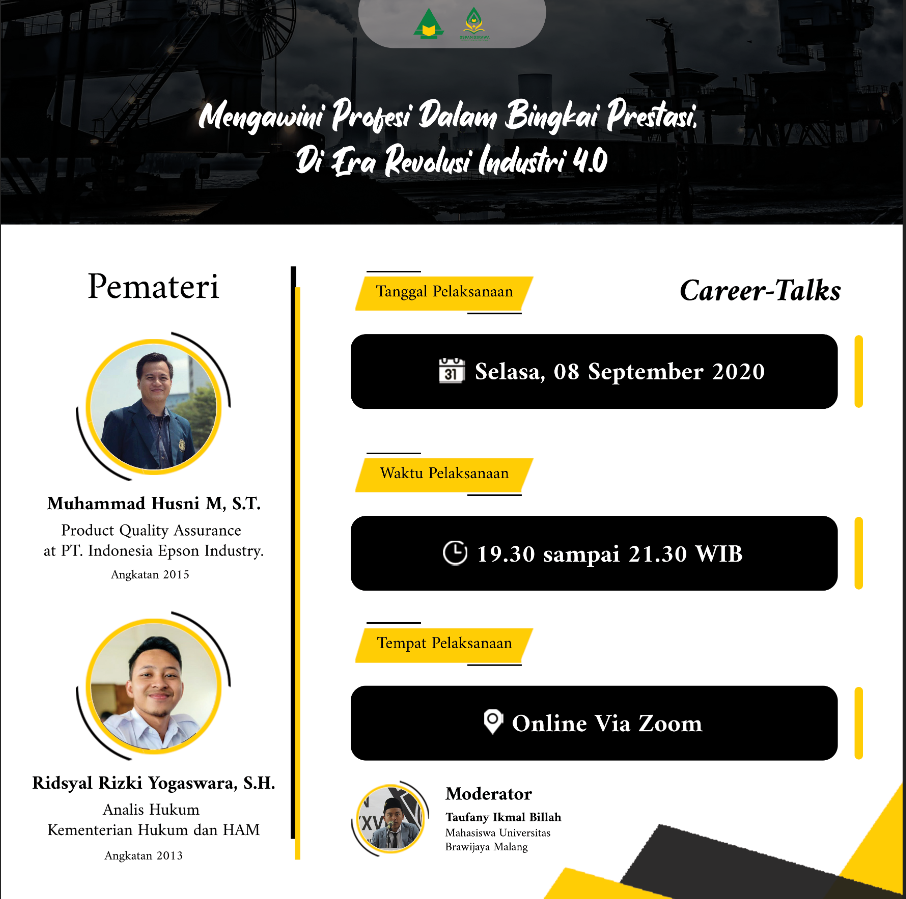 Mengawini Profesi Dalam Bingkai Prestasi Di Era Revolusi Industri 4.0