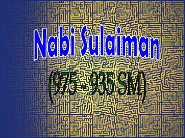 Mengaca pada Kisah Nabi Sulaiman