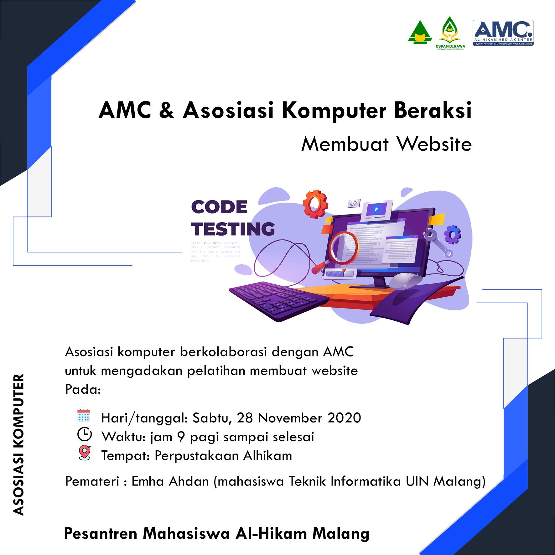 AMC & Asosiasi komputer beraksi